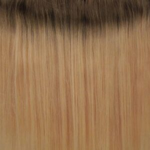 Platinaszőke Ombre #10/60A - Miley - Damilos Póthaj (36 cm/100 gramm)