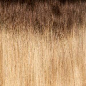 Golden Blonde Ombre #9A/24 - Drew - Ashlynn Braid® Halo Hair - Ombre (14 inch/100 grams)