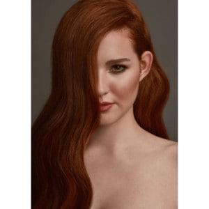 Vöröses Aranybarna #30M - Sarah - Damilos Póthaj - Glow Up (31 cm/100 gramm)