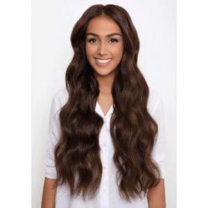 Középbarna #4 - Kate - Damilos Póthaj - Angel Hair (51 cm/140 gramm)