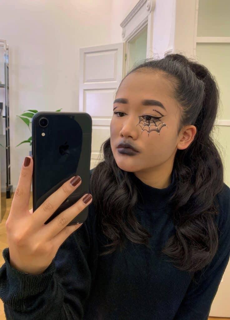 halloween hair and makeup tips