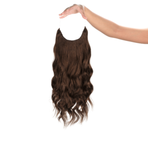 Sötétbarna #2 - Mila - Damilos Póthaj - Angel Hair (51 cm/140 gramm)