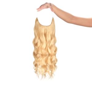Aranyszőke #24 - Lisa - Ashlynn Braid® Damilos Póthaj - Angel Hair (51 cm/140 gramm)
