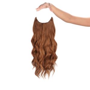 Gesztenyebarna #29 - Gemma - Damilos Póthaj - Angel Hair (51 cm/140 gramm)