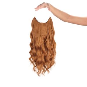 Vöröses Aranybarna #30M - Sarah - Damilos Póthaj - Angel Hair (51 cm/140 gramm)