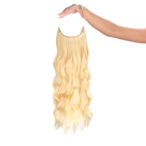 Bézsszőke #613 - Reese - Damilos Póthaj - Angel Hair (51 cm/140 gramm)